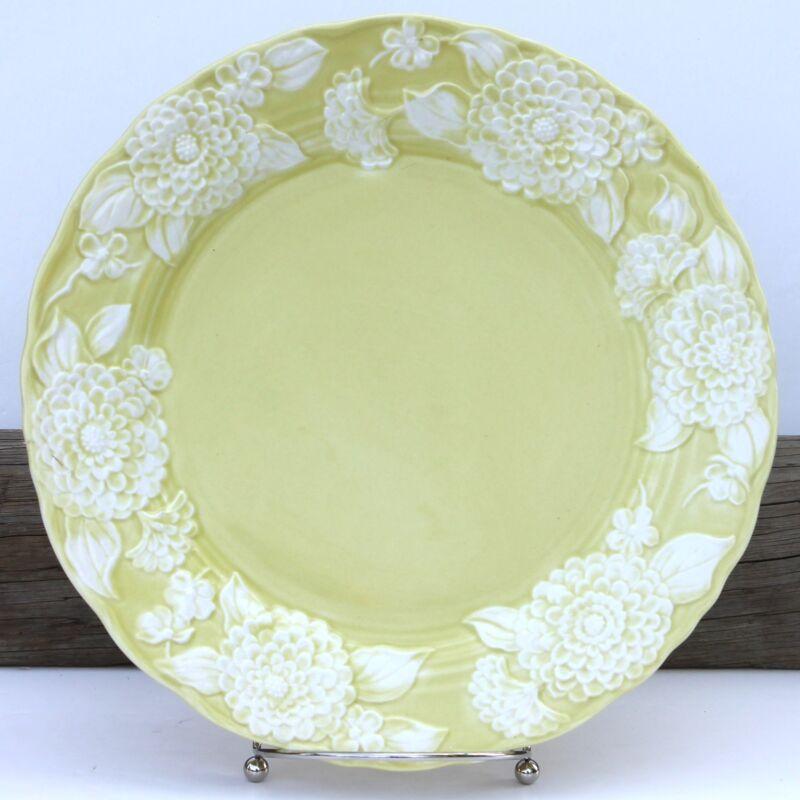 Metlox Pottery Poppy Trail Flora Lace Dinner Plate