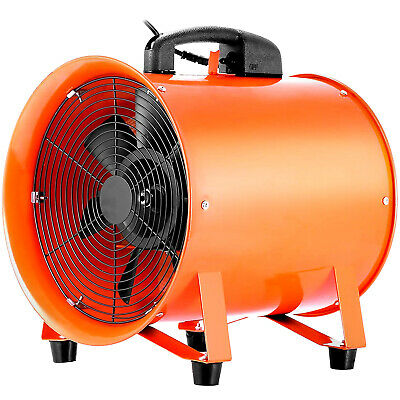 10 Duct Exhaust Fan Blower Ventilator Extractor Industrial Garage High Rotation
