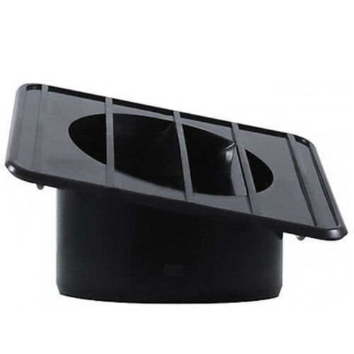 67-72 Chevy GMC Pickup Truck Defroster Defrost Duct Left Side Inside Dash Black