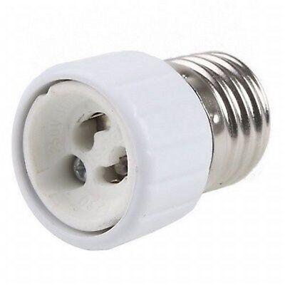 E27 GU10 Adaptador de Lámpara Gu Lámpara De E27 Casquillo Roscado #a866