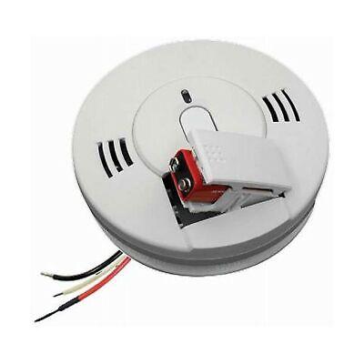 Smoke Carbon Monoxide Alarm120-Volt Hardwired Inter-Connecta