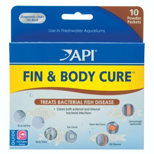 FIN & BODY CURE Remedy Aquarium Fish API   FREE SHIPPING