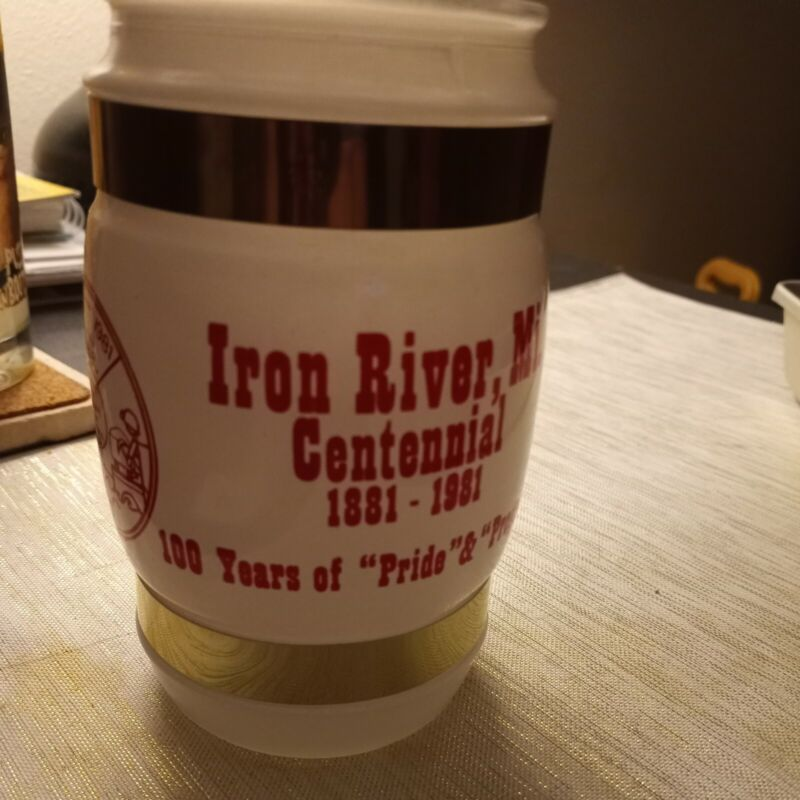 Vintage Siesta Ware Iron River, MI Centennial  Mug