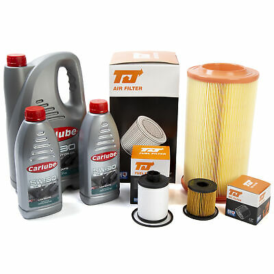 Service Kit 7 Litres Oil Carlube+ Air & Fuel Filters Fits Citroen Relay 2.2