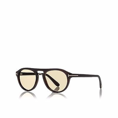 Authentic Tom Ford Tom N. 3 64E Private COllection Real Horn Aviator Sunglasses