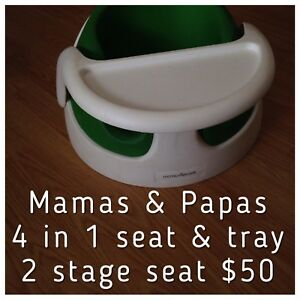 Mamas & Papas 4-in-1 seat and tray. Like Bumbo