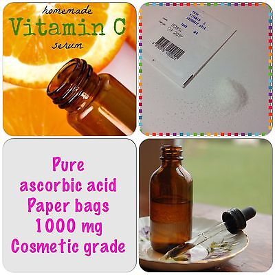 DIY C cosmetic ascorbic Vitamin C 100% powder ascorbic acid 1000mg Vitamin
