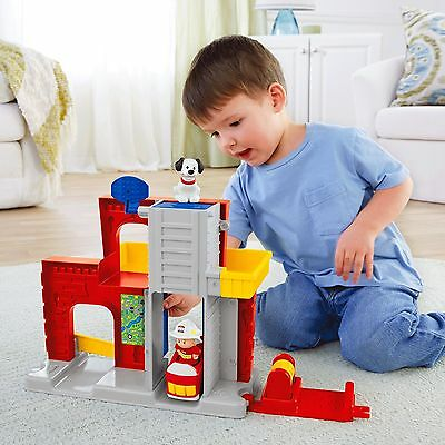 Fisher-Price Little People Wheelies Fire Station