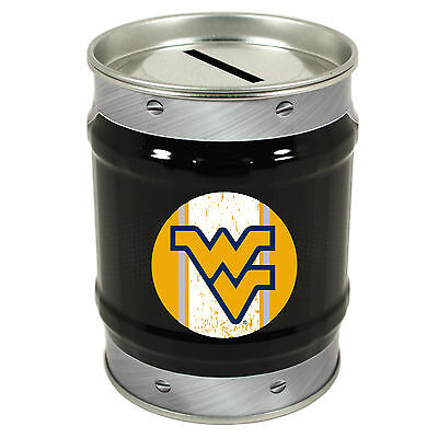West Virginia University Tin Bank West Virginia Coin Bank New For 2016