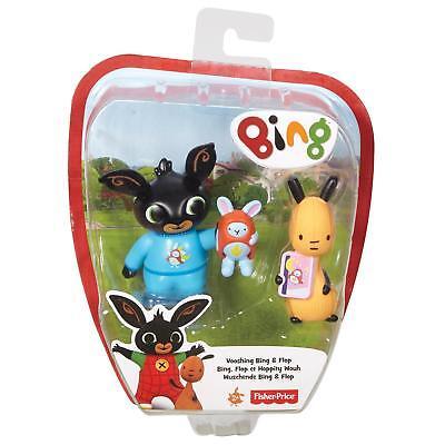 Fisher Price Bing Figure Children's Toy - Vooshing Bing & Flop Age 2+