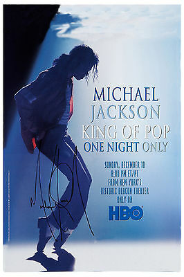 Motown & Soul: Michael Jackson * HBO One Night Only Special * Promo Poster 1995
