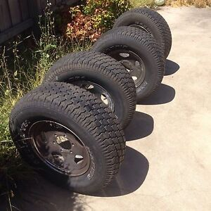 4 X tyres and rims 235/75R15 Lynbrook Casey Area Preview
