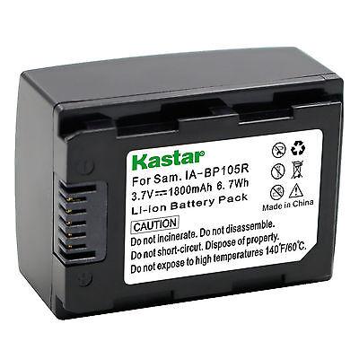 1X Kastar Battery For Samsung Ia Bp105r Hmx H300 H303 H304 H305 H320