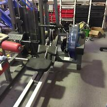 Commercial Fluid Water Rower e520 20 Resistance Osborne Park Stirling Area Preview