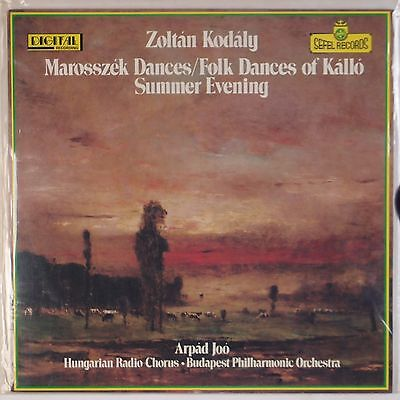 Kodaly  Folk Dances Of Kallo Sefel Audiophile Scarce Sealed Vinyl Lp