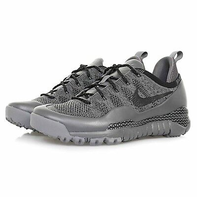 Nike Lupinek Flyknit Low 100% Authentic Men's Trainers Shoes 882685 001 Grey