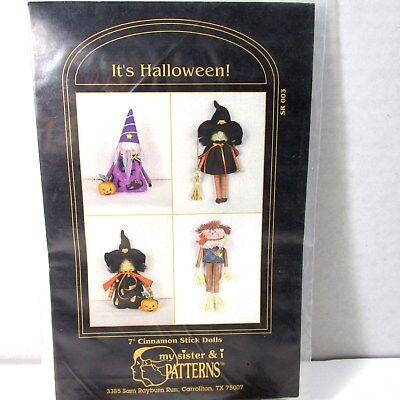 It Is Halloween Craft Pattern for Seasonal 7