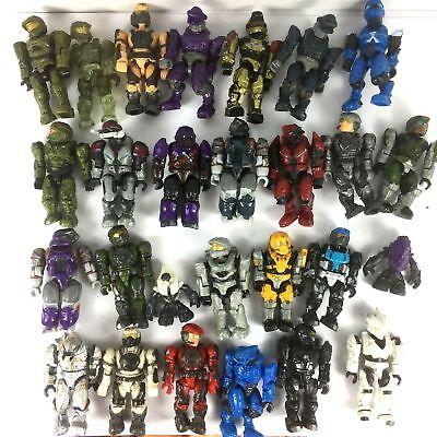 Random 10PCS Halo Mega Bloks Party Building Toys Action Figure cute toy - Mega Toys