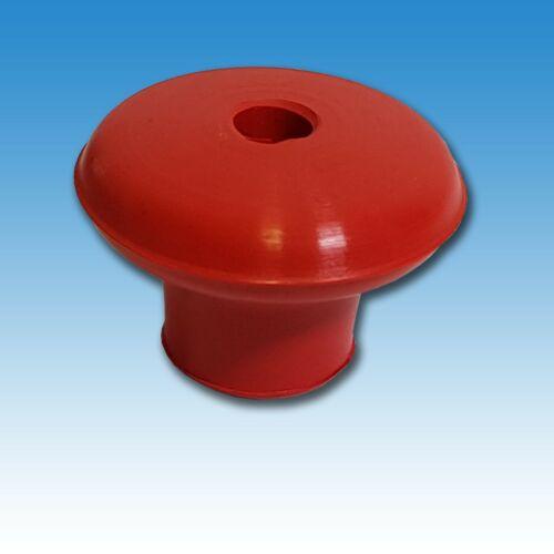 Schaltknauf Holder E6 rot für Zapfwelle Traktor Schlepper 22235621 Foto 1