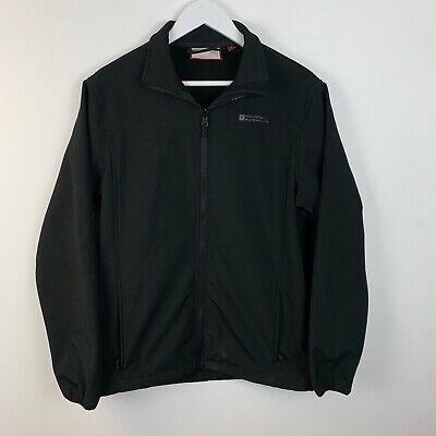 Mountain Warehouse Extreme soft shell coat jacket fleece black M walking work