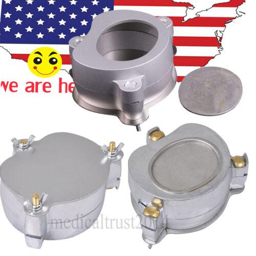 3pcs  Denture Flask press Compress Compressor parts for Dental Lab dentist NEW