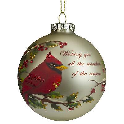 Cardinal Christmas Ornament (Northlight Red Cardinal