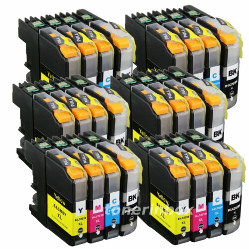 24pk LC203 XL Ink Cartridge For Brother LC201 MFC-J460DW MFC