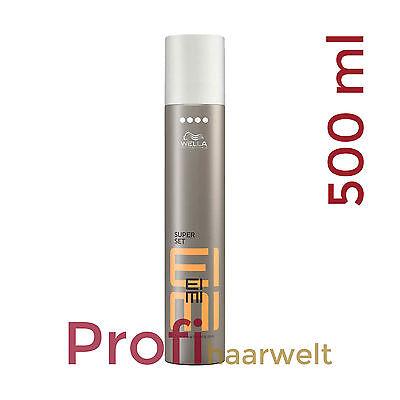 Finishing Spray Haarspray (Wella EIMI Super Set Finishing Spray für extra starken Halt 500 ml)