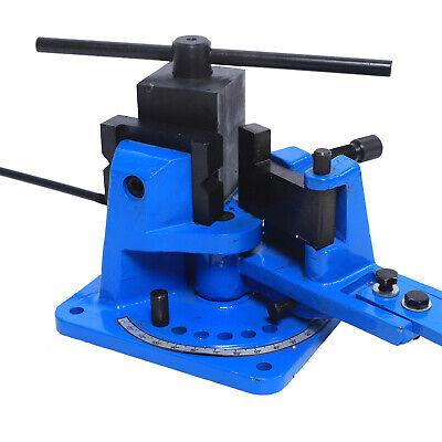 Universal 120 Metal Rebar Bender Manual Flat Steel Iron Bender Sturdy Design