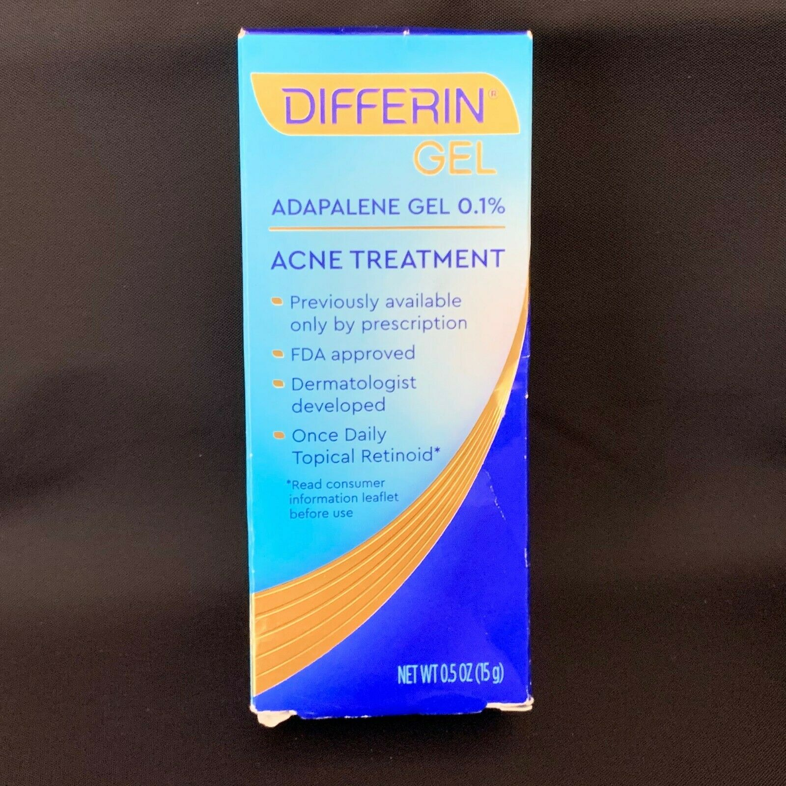 Adapalene Gel Differin Gel 0 3 45g By Prasco Pharma Acne