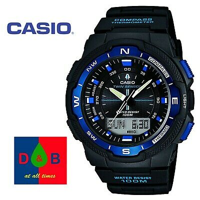 *Low Price* Casio Men's SGW-500H-2BVER Resin Band Digital Sports Watch RRP £110