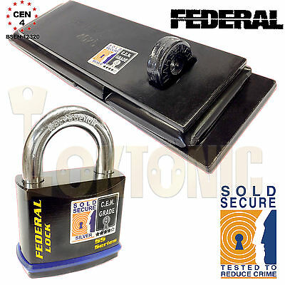 Federal Fd4025 Fd730 Sichere Verkauft Cen 4 Schwer Dienst Schuppen Garage Tor