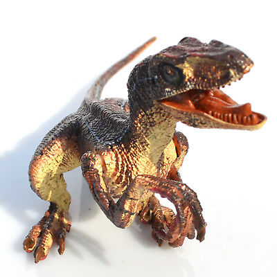 Velociraptor Realistic Raptor Dinosaur Toy Moveable Jaw Arms Best Gift for Kids - Realistic Dinosaur