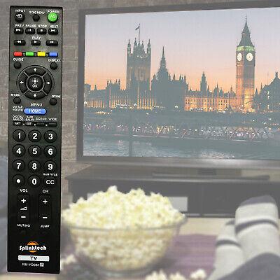 Replacement TV Remote Control For Sony Bravia KDL32EX403 KDL37EX403 KDL40EX403