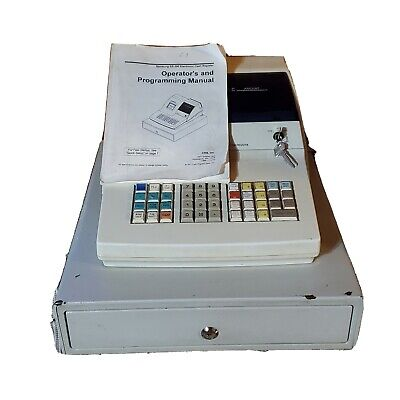 Samsung Er-290 Cash Register With All Keys Manual Working Condition Tested