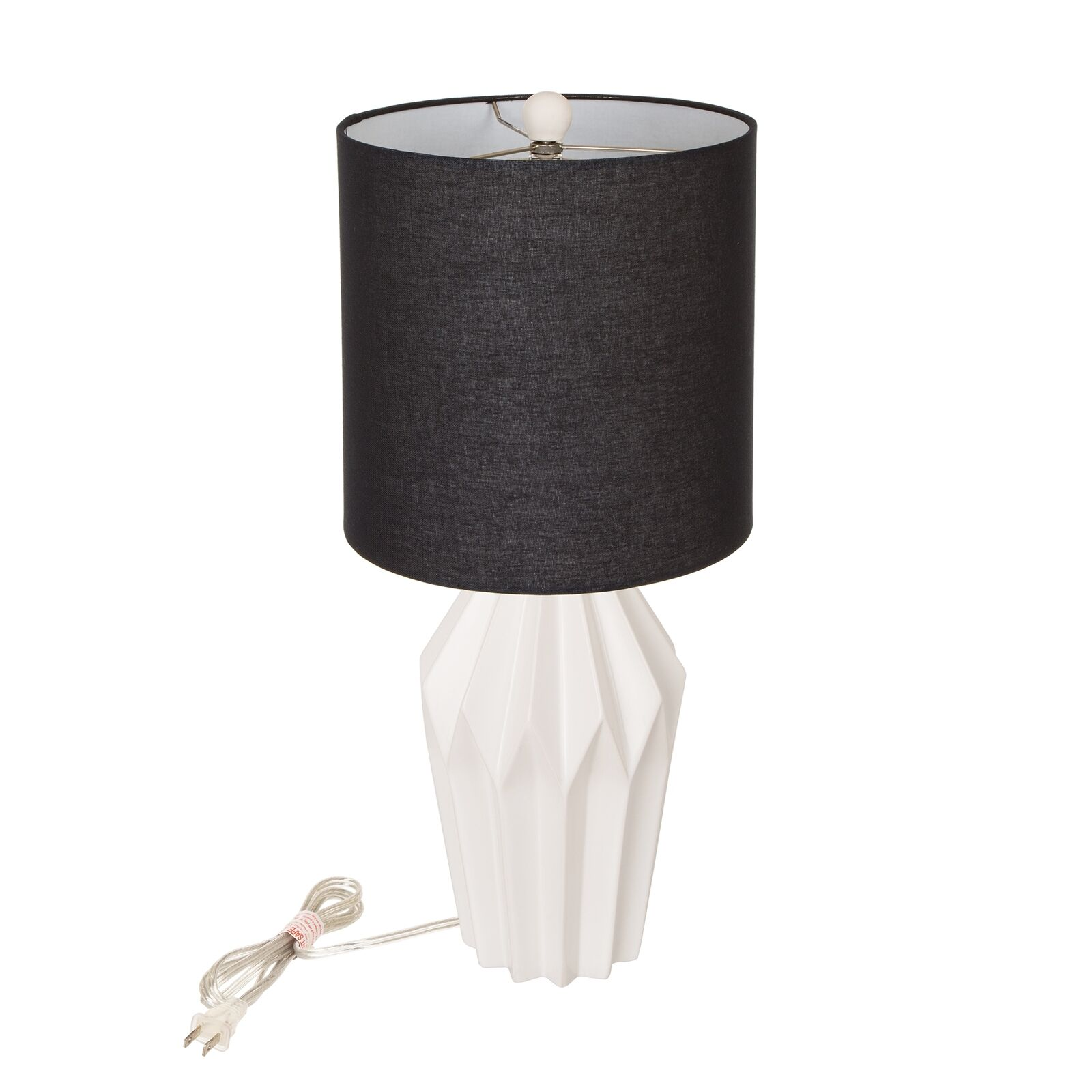 Details about Glitzhome Modern Ceramic Table Lamp Aesthetic Bedroom Accent  Light Living Room