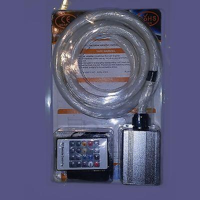 Led & fiber optic star ceiling lighting kit 300 pcs of .75mm fiber x 9 ft long