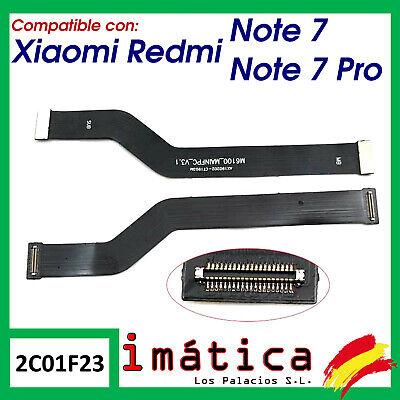 FLEX PRINCIPAL CONECTOR PLACA BASE PARA XIAOMI REDMI NOTE 7 ALARGADOR CABLE...