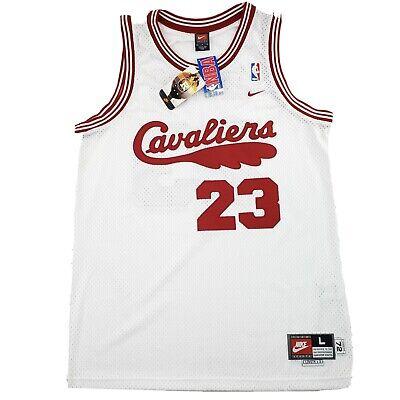 Vintage Nike 2003 LeBron James Cleveland Cavaliers 1972 Rewind Jersey NBA BNWT