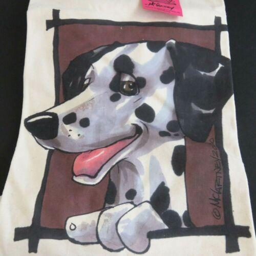 Dalmation Dog Shirt NEW McCartney Dogs Large Vintage Rare Discontinued 2000