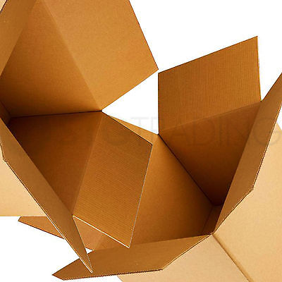 10 x LARGE Removal Packing Carboard Boxes 24x18x18