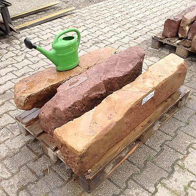 3 Antike Sandstein Ruine Natursteine Pfeiler Stufen Blockstufe Treppenstufe G 22