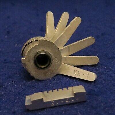 Curtis Model 15 Key Code Cutter Clipper Gm-4 Cam Gm-4a Carriage 6 Cut Mint