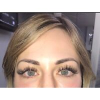 Holiday lash extension promo $80