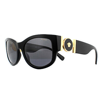 Versace Sunglasses VE4372 GB1/81 Black Grey Polarized