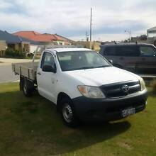 2006 Toyota Hilux TGN16R Workmate 5 Speed Manual UTE Canning Vale Canning Area Preview