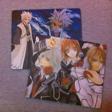 Anime Mouse Pads NEW CONDITION (Bleach & Vampire Knight) Inala Brisbane South West Preview