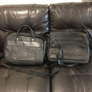 Leather lap top bags