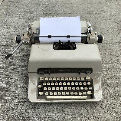 Vintage Royal 440 Typewriter Working Condition