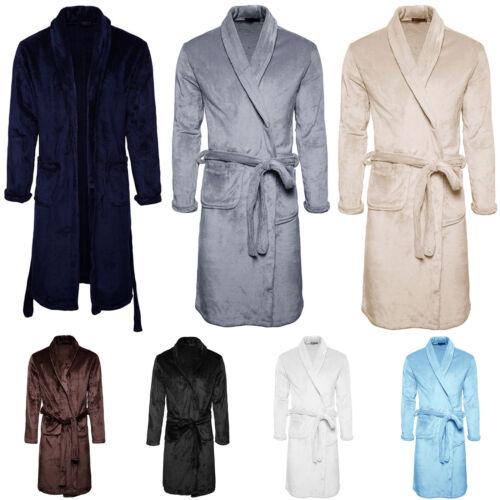 Mens Womens Bathrobe Dressing Bath Robe Nightwear